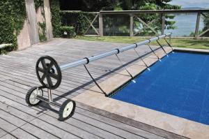 Enrouleur de bache K336 pour piscine