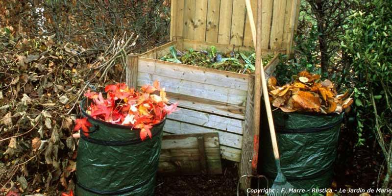 Compostage des déchets verts