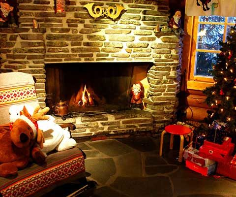 Décoration de Noël intérieur