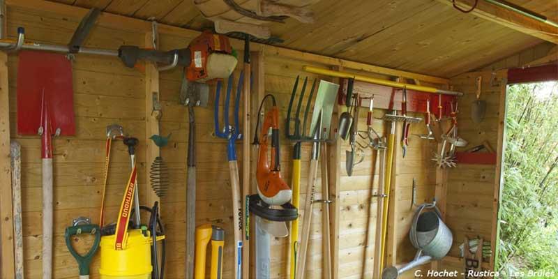 Ranger ses outils jardin pour l'hiver