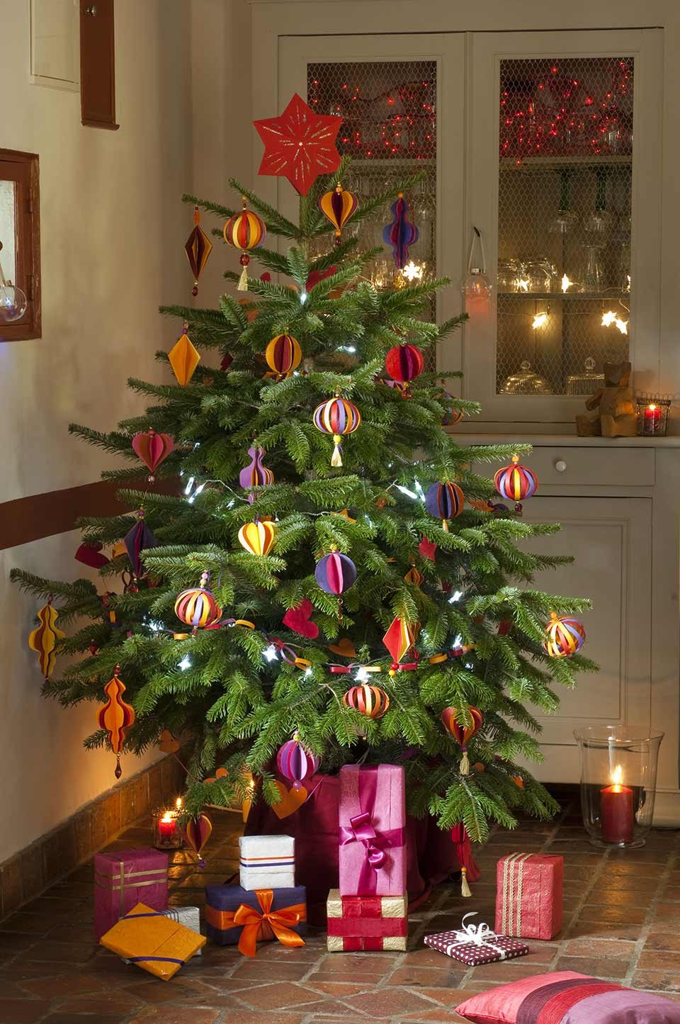 Decoration sapin de noel naturelle - Deco sapin de noel ...