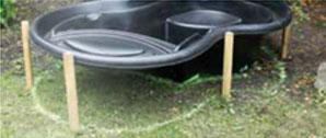 installer un bassin d 39 ornement au jardin. Black Bedroom Furniture Sets. Home Design Ideas