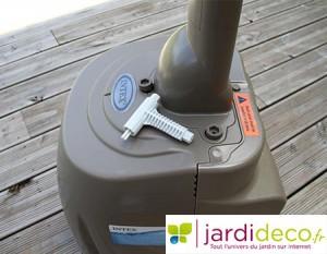 Bloc moteur du spa : vis et outils