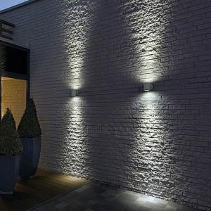 Décorer sa terrasse - Lumières mur en pierre