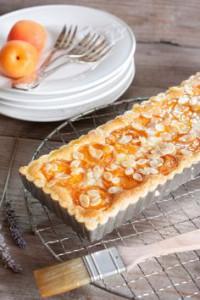 Tarte aux abricots - été
