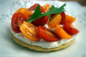 tartelette tomates cerises -été