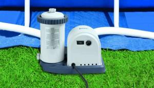 Système de filtration : Épurateur à cartouche Intex