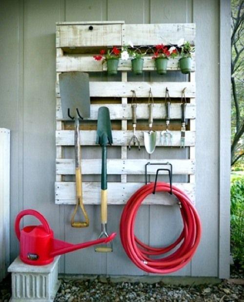 6 Idées Astucieuses Pour Ranger Ses Outils De Jardin