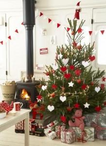 décoration de Noël intérieure - sapin de noël classique