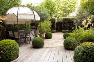 Aménager son jardin : style moderne