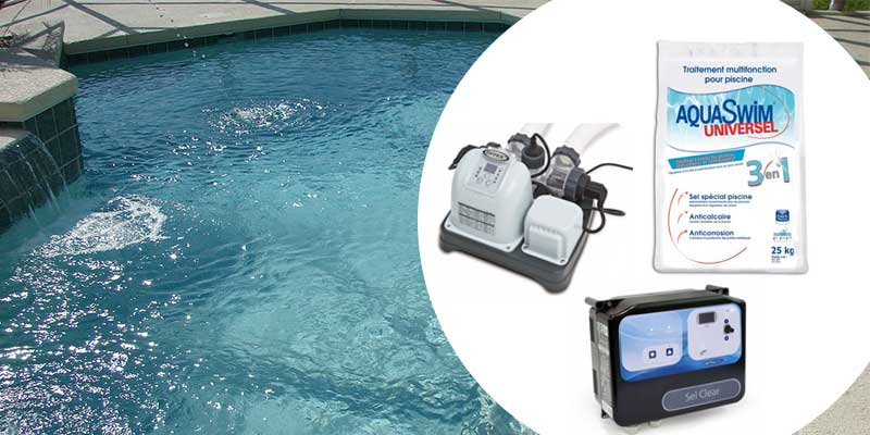 Les avantages du traitement au sel de sa piscine for Allergie au chlore de piscine