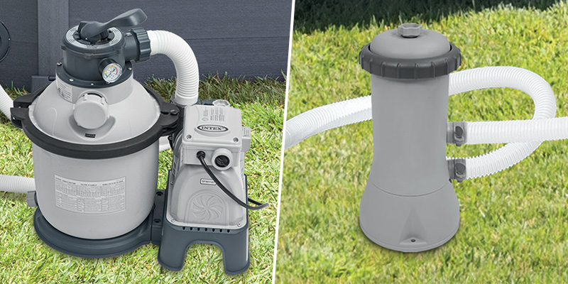 Epurateur piscine Filtre pompe épurateur Cartouche hors sol 2m3//h filtre intex