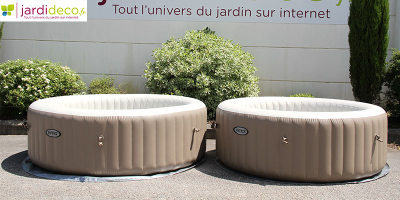 Conseils pour installer son spa gonflable intex blog officiel jardideco - Comment installer un spa gonflable ...