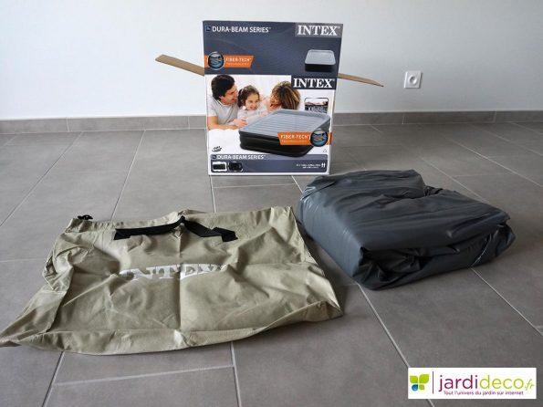 comment installer son matelas gonflable tuto blog jardideco officiel. Black Bedroom Furniture Sets. Home Design Ideas