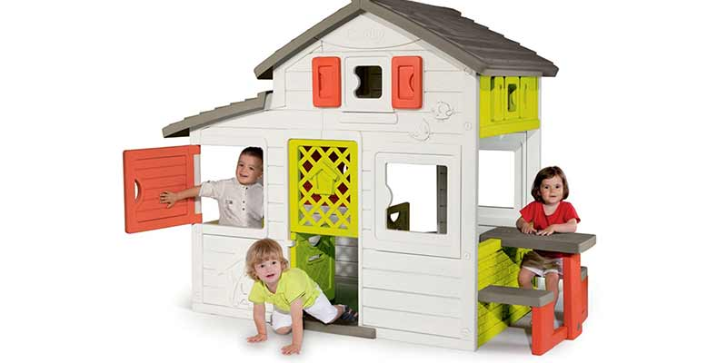 Cabane enfant en plastique