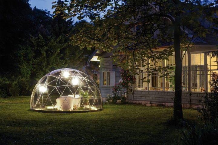 le Garden igloo, version tonnelle pour l'été