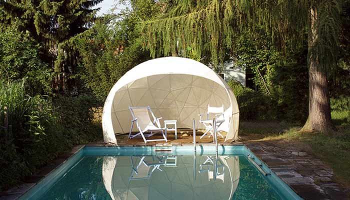 le jardin d 39 hiver garden igloo un abri de jardin design et contemporain. Black Bedroom Furniture Sets. Home Design Ideas