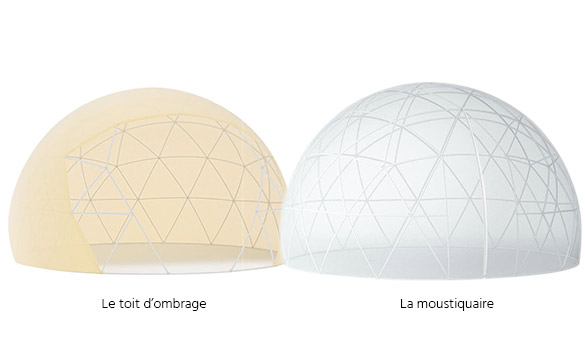 Les options du Garden Igloo