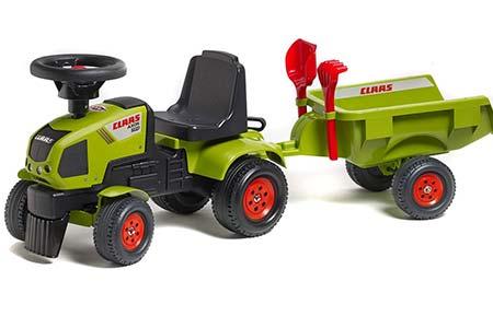 Tracteur enfant réaliste