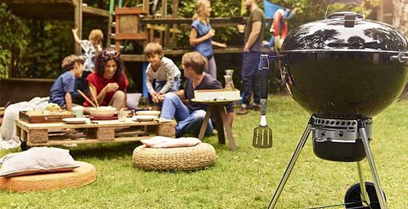 le barbecue master Touch GBS 57 cm de Weber
