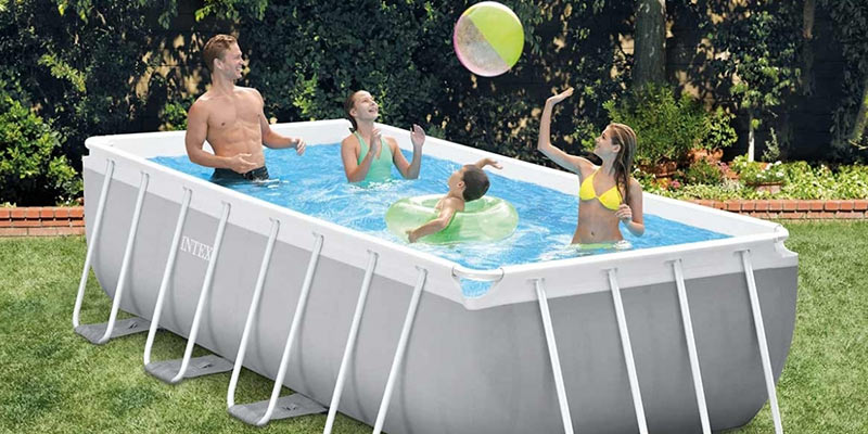 hiverner une piscine hors-sol Intex