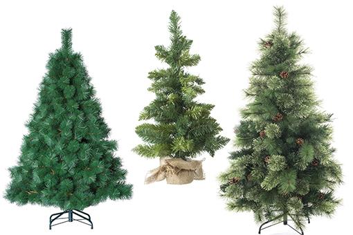 Sapins de Noël artificiels verts