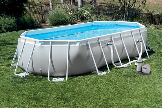 Piscine hors-sol Intex PRISM FRAM OVAL