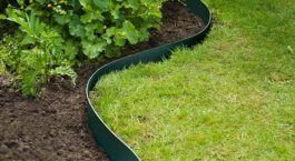 comment installer une bordure de jardin en pvc ?