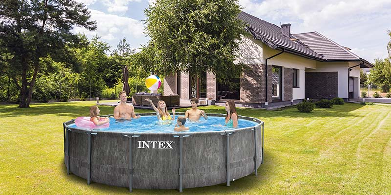 La Piscine Tubulaire Baltik Intex Une Touche Scandinave