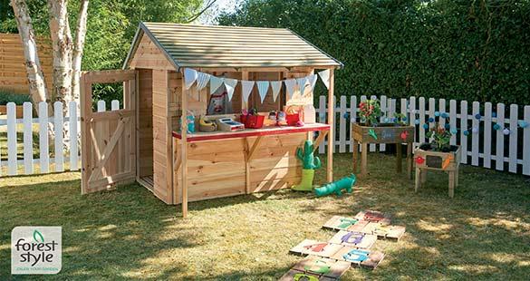 Cabane en bois enfant Forest Style