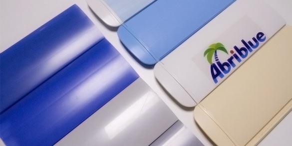 Lames PVC opaques pour volet de piscine