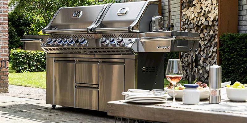 Barbecue à gaz Napoléon Prestige Pro