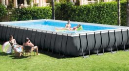 Piscine rectangulaire tubulaire Intex 26374