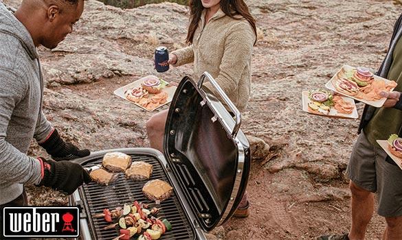 Barbecue à gaz Weber Traveler